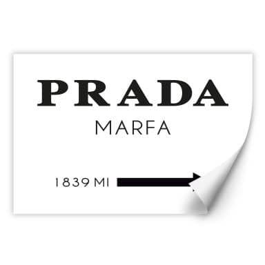 Wallprint Prada Marfa