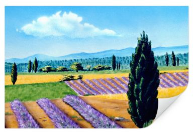 Wallprint W - Provence Malerei