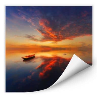 Wallprint Krol - Ein leuchtender Sonnenuntergang -