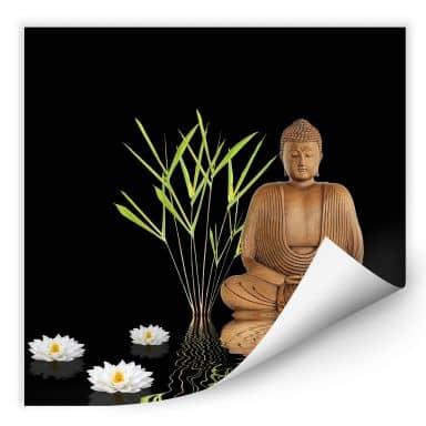 Wallprint W - Zen Buddha