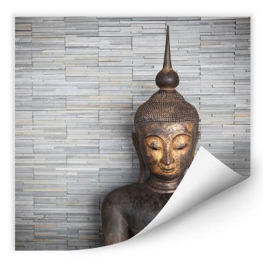 Wallprint W - Thailand Buddha - quadratisch