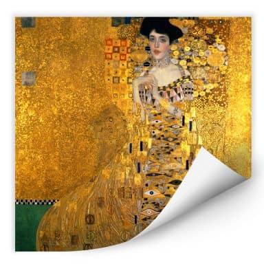 Zelfklevende Poster - Klimt - Adele Bloch Bauer