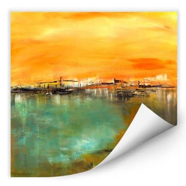 Wall print W - Niksic - By the Water