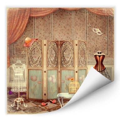 Wallprint W - Ankleidezimmer einer Prinzessin