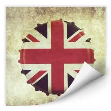 Zelfklevende Poster  Britse Kroonkurk
