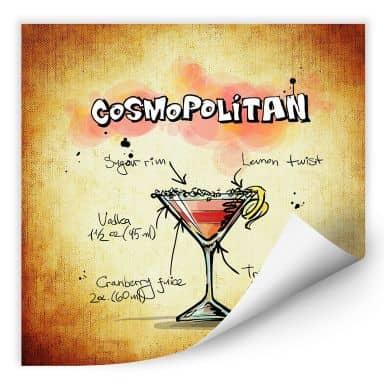 Wallprint Cosmopolitan - Rezept