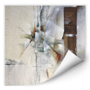 Wallprint Schmucker - Weisse Komposition