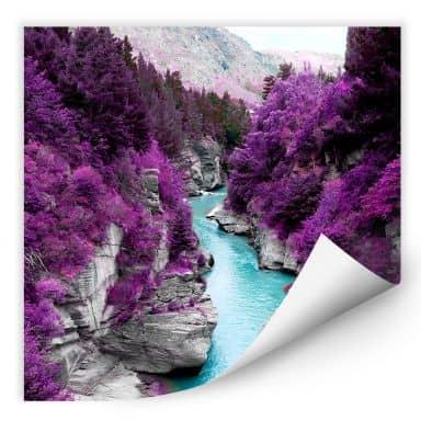Wallprint W - Kawarau River