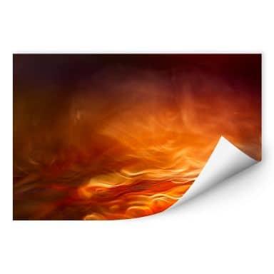Zelfklevende Poster Marthinussen - Burning Water