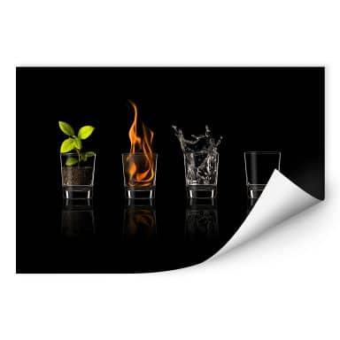 Wallprint Frutos Vargas - The Four Elements