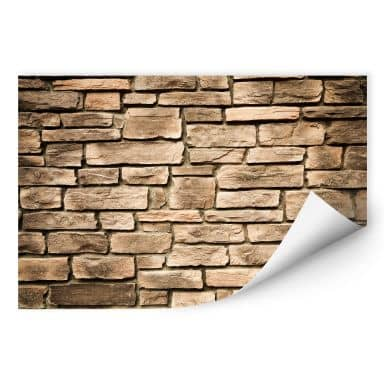 Wall print W - Italian Stonewell