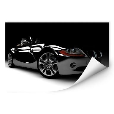 Wallprint W - Black Car