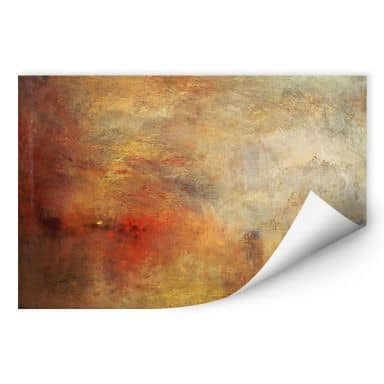 Wall print W - Turner - Sunset above the Lake