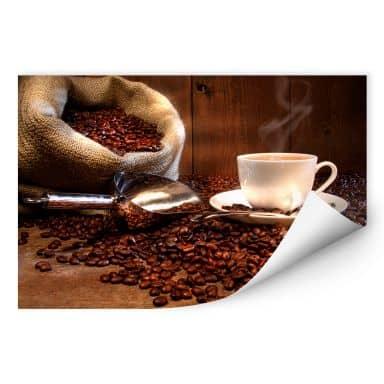 Wallprint W - Kaffeegenuss