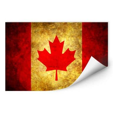 Wall print W - The Maple Leaf