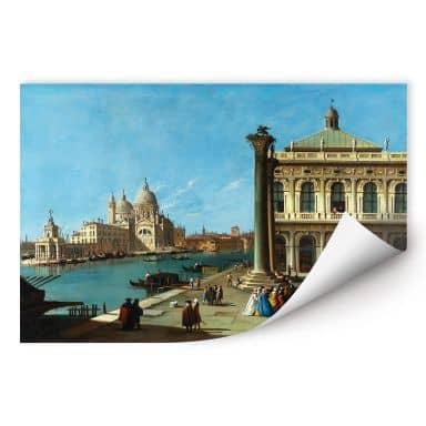 Wallprint Canaletto - Die Einfahrt zum Canal Grande