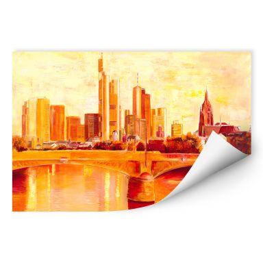Wallprint W - Schüßler - Skyline Frankfurt