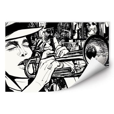 Wallprint W - Sound of a Street Musician