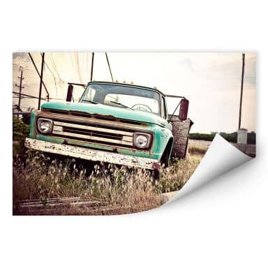 Wallprint W - American rusted Truck