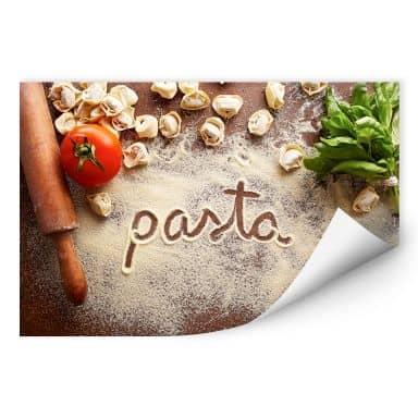 Wall print W - Pasta - Tortellini