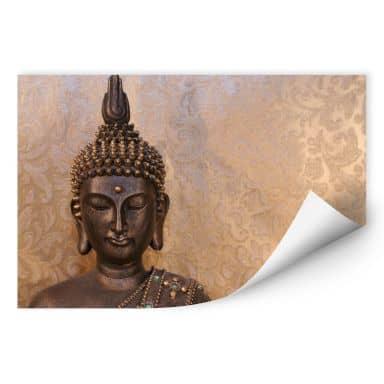 Zelfklevende Poster  Wijze Boeddha