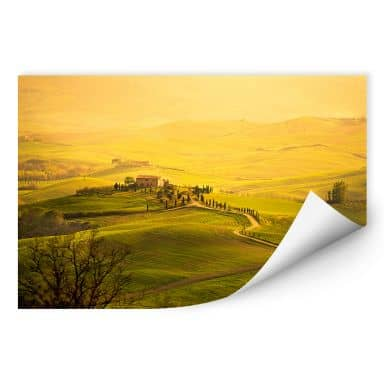 Wallprint W - Weitblick in der Toskana