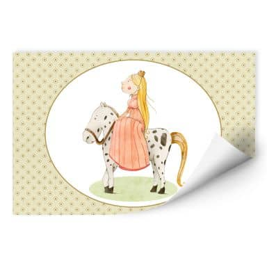 Wall print Loske - Princess