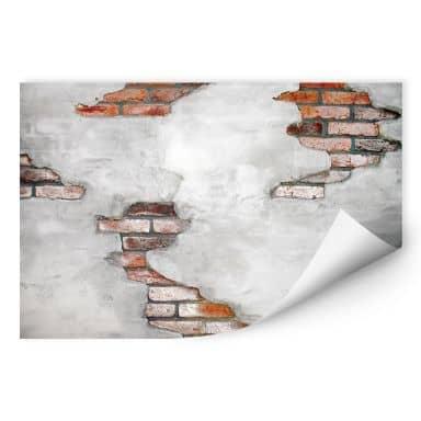 Wallprint Backsteinmauer 02