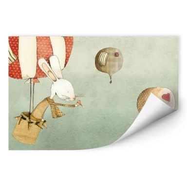 Wallprint Loske - Ballonfahrt
