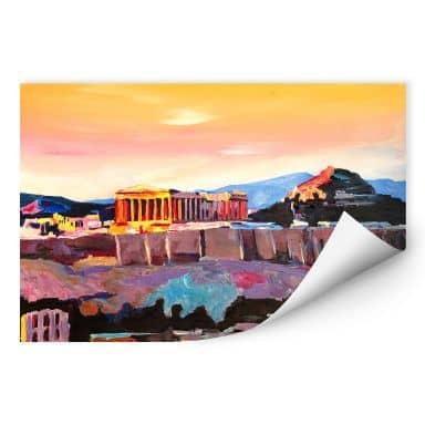 Wallprint Bleichner - Akropolis in Athen