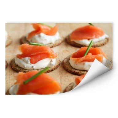 Wallprint Salmon Appetizer