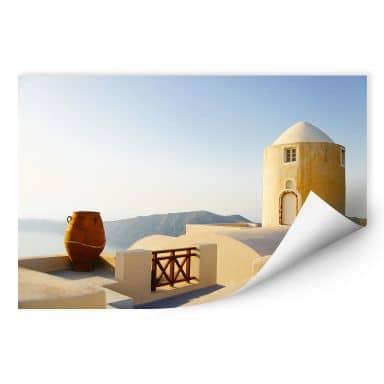 Wallprint Mediterrane Aussicht