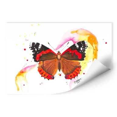 Wallprint Buttafly - Vanessa Athalanta