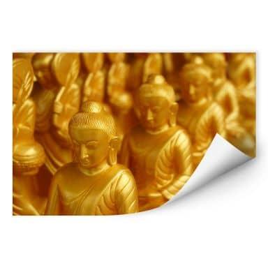 Wallprint Golden Buddha