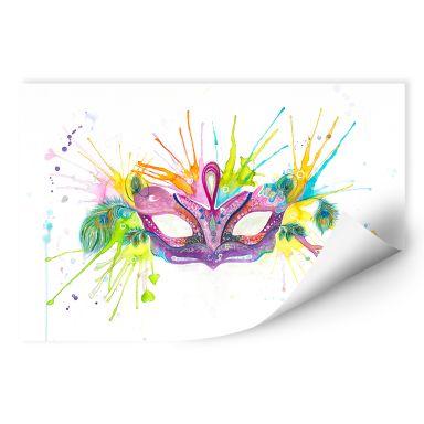 Wallprint Buttafly - Mardi Gras