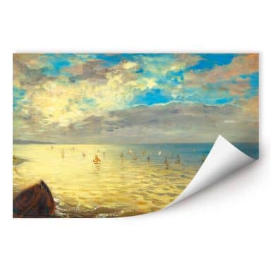Wall print Delacroix - The Ocean