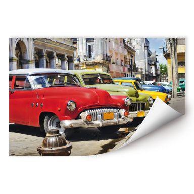 Wallprint W - Cuba Cars
