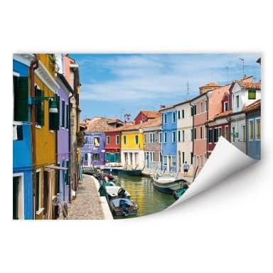 Wallprint W - Farbenfrohes Venedig