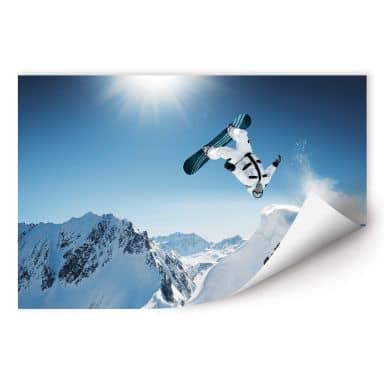 Wallprint W - Snowboarder
