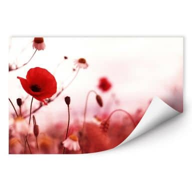 Zelfklevende Poster  Poppy Impressions