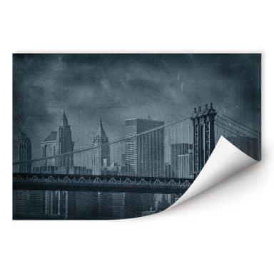 Wallprint W - New York Bridge