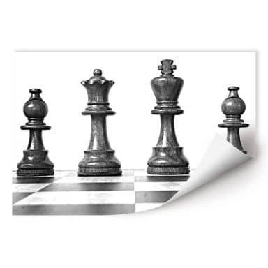 Wallprint W - Schach Symmetrie