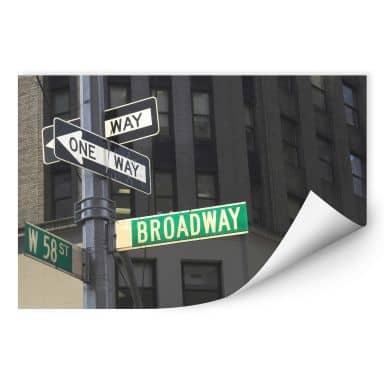 Wallprint W - Broadway