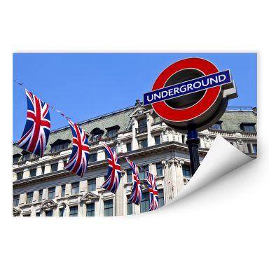 Wallprint W - London Underground
