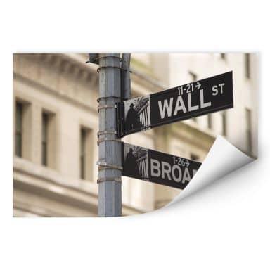 Wallprint W - Wallstreet
