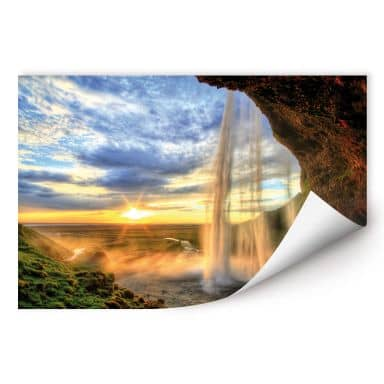 Wallprint W - Seljalandsfoss Wasserfall