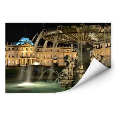 Wallprint W - Stuttgarter Schlossbrunnen