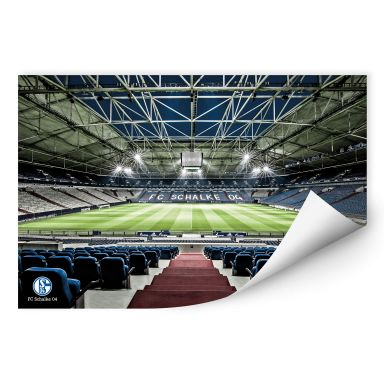 Wallprint - Schalke 04 - Arena Tribüne