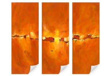 Wall print W - Schüßler - Seclan (3-piece)