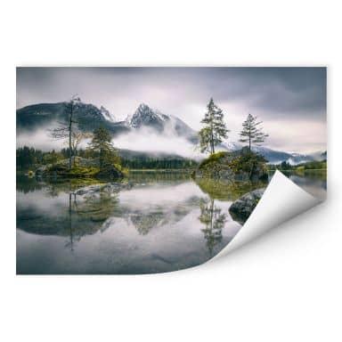 Wallprint Wiemer - Nebel über Hintersee